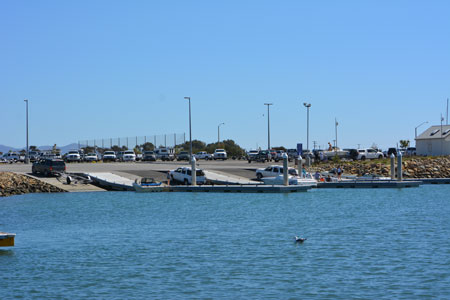 Boat Launch at Channel Island Harbor - Oxnard