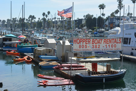 Things to do - Water Recreation and Sports at Channel Islands Harbor Rentals