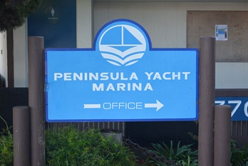 Peninsula Yacht Marina in Channel Islands Harbor