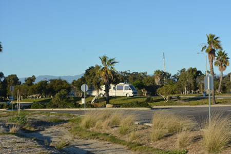 RV Park at Channel Islands Harbor Boat Launch in Oxnard, Ca.