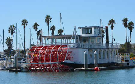 Scarlett Belle Paddle Wheel Boat